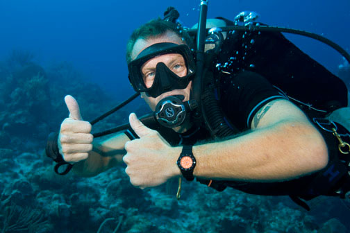 Thumbs Up Diver