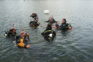 Instructor in Open Water